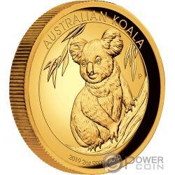 AUSTRALIAN KOALA 2 Oz Moneda Oro 200$ Australia 2019