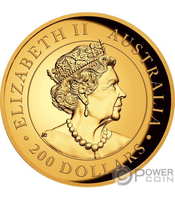 AUSTRALIAN KOALA 2 Oz Gold Coin 200$ Australia 2019