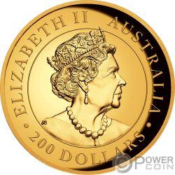AUSTRALIAN KOALA 2 Oz Монета Золото 200$ Австралия 2019