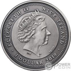 ATTENDANT ANGEL II Begleitender Silber Münze 1$ Niue 2019
