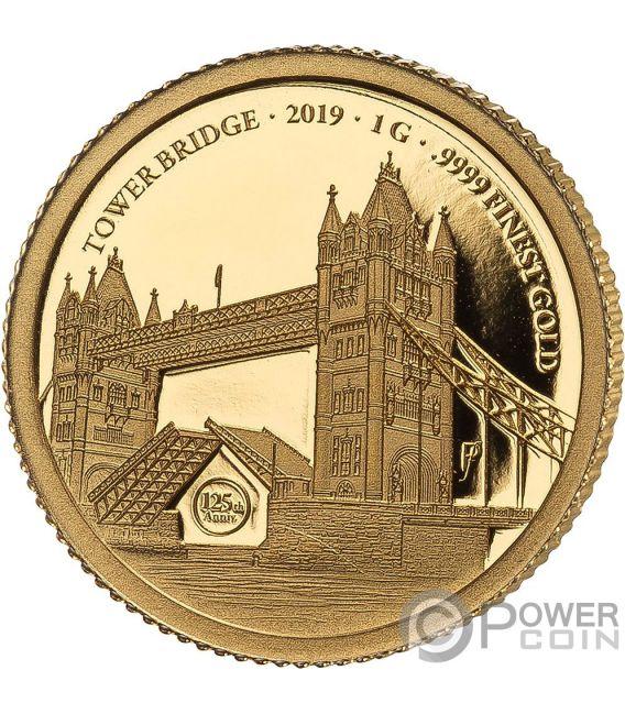 TOWER BRIDGE 175 Юбилей Набор Монета Серебро Золото 2£ 10$ Великобритания Соломоновы Острова 2018 2019