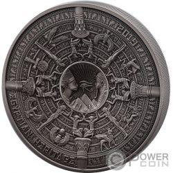 EGYPTIAN HERITAGE Patrimonio Multiple Layer 1 Kg Kilo Moneta Argento 25$ Samoa 2019