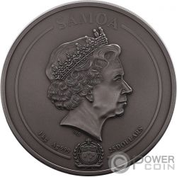 EGYPTIAN HERITAGE Multiple Layer 1 Kg Kilo Silver Coin 25$ Samoa 2019