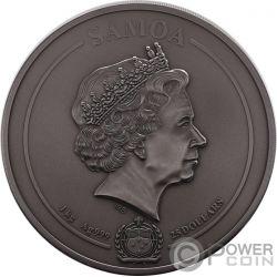 EGYPTIAN HERITAGE Наследие Multiple Layer 1 Kg Килограмм Монета Серебро 25$ Самоа