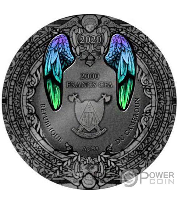 ARCHANGEL GABRIEL 2 Oz Silver Coin 2000 Francs Cameroon 2020