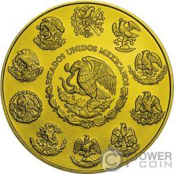 EMILIANO ZAPATA Революция Свобода Позолота 1 Oz Монета Серебро Мексика 2019