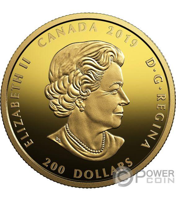 LIGHT PROSPERITY Celebrating Canadas Diversity 1 Oz Gold Coin 200$ Canada 2019