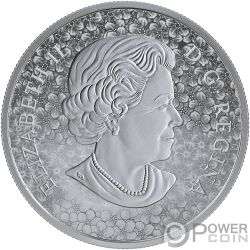 FORGET ME NOT Flower 1 Oz Silver Coin 20$ Canada 2019