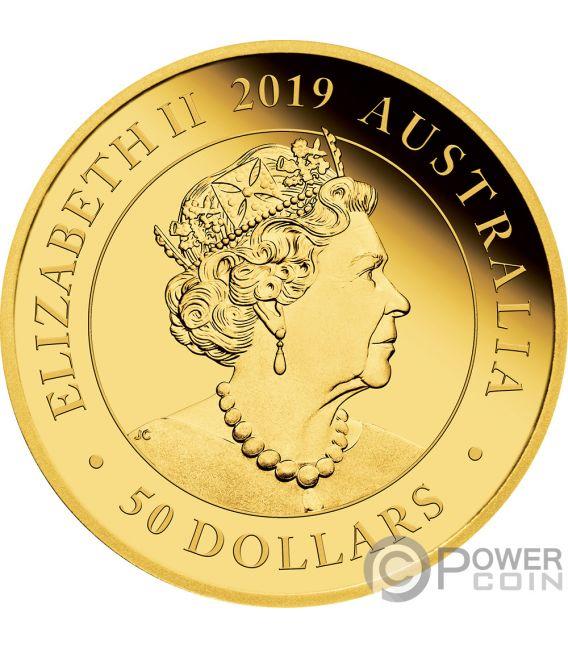 DOUBLE SOVEREIGN Souverane 200 Jahrestag Gold Münze 50$ Australia 2019
