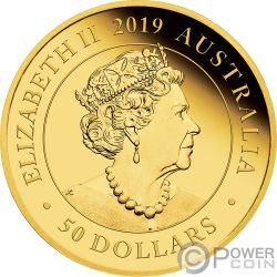 AUSTRALIA DOUBLE SOVEREIGN 200 Anniversary Gold Coin 50$ Australia 2019