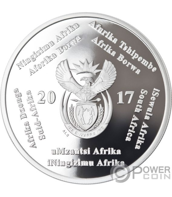 HEART TRANSPLANT R2 50th Anniversary 1 Oz Silver Coin 2 Rand South Africa 2017