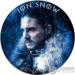 JON SNOW Game of Thrones II GOT Walking Liberty 1 Oz Moneta Argento 1$ USA 2019
