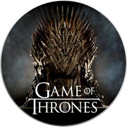 DAENERYS TARGARYEN Game of Thrones II GOT Walking Liberty 1 Oz Moneta Argento 1$ USA 2019