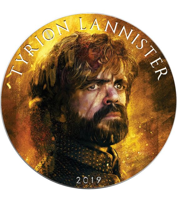 TYRION LANNISTER Game of Thrones II GOT Walking Liberty 1 Oz Silver Coin 1$ USA 2019