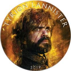 TYRION LANNISTER Game of Thrones II GOT Walking Liberty 1 Oz Moneda Plata 1$ USA 2019