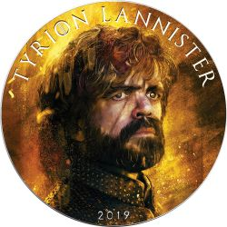 TYRION LANNISTER Game of Thrones II GOT Walking Liberty 1 Oz Silber Münze 1$ USA 2019