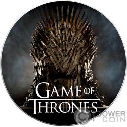 BARATHEON 13/5000 Наша ярость Game of Thrones GOT Walking Liberty 1 Oz Монета Серебро 1$ США 2019
