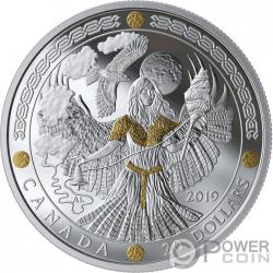 FRIGG Norse Gods 1 Oz Монета Серебро 20$ Канада 2019