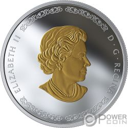 FRIGG Скандинавские Боги 1 Oz Монета Серебро 20$ Канада 2019