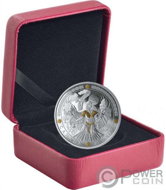 FRIGG Norse Gods 1 Oz Silver Coin 20$ Canada 2019