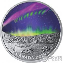 STEVE Sky Wonders 1 Oz Moneda Plata 20$ Canada 2019