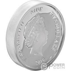 DONALD DUCK Уточка 85 Годовщина Дисней 2 Oz Монета Серебро 5$ Ниуэ 2019