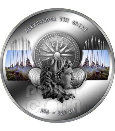 ALEXANDER THE GREAT Commanders Silver Coin 1$ Niue 2011