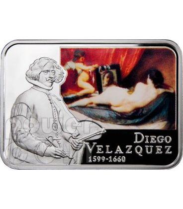 Velazquez diego venus at her mirror silver coin 1 niue - Venere allo specchio velazquez ...