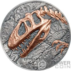 SINRAPTOR Evolution of Life 1 Oz Silver Coin 500 Togrog Mongolia 2019