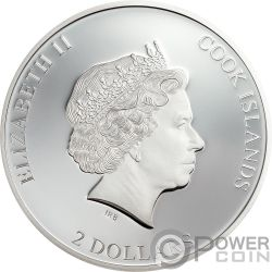 THOSE ABOUT ROCK ACDC 1/2 Oz Moneda Plata 2$ Cook Islands 2019