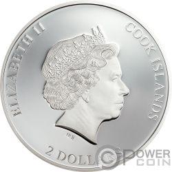 THOSE ABOUT ROCK ACDC 1/2 Oz Серебро Монета 2$ Острова Кука 2019