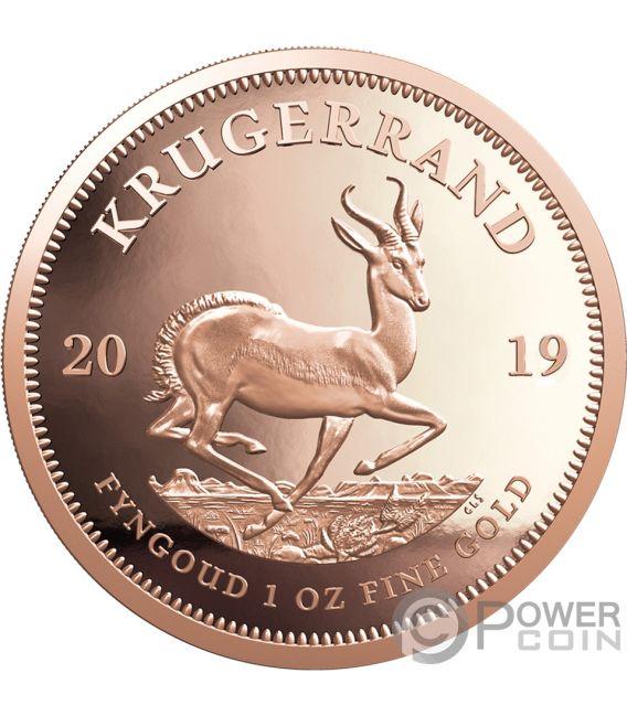 KRUGERRAND 1 Oz Gold Coin 1 Rand South Africa 2019