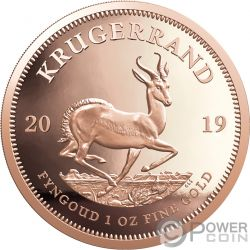 KRUGERRAND 1 Oz Gold Coin 1 Rand South Africa 2019