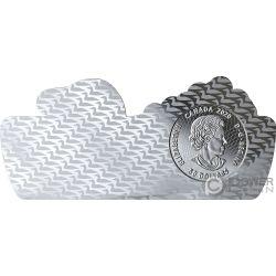 COMMON LOON Shape 3 Oz Silver Coin 50$ Canada 2020