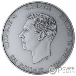 D-DAY Snapshot Time 75th Anniversary 1 Kg Kilo Silver Coin 250$ Canada 2019