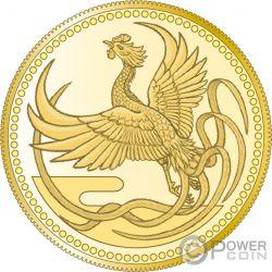 EMPEROR ENTHRONEMENT Phenix Gold Münze 10000 Yen Japan Mint 2019