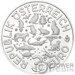 CRAWFISH Flusskrebs Colourful Creatures Glow In The Dark Coin 3€ Euro Austria 2019