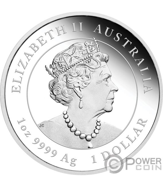 MOUSE Lunar Year Series III 1 Oz Silver Coin 1$ Australia 2020
