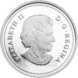 RAINDROP Crystal Swarovski Серебро Монета 20$ Канада 2011