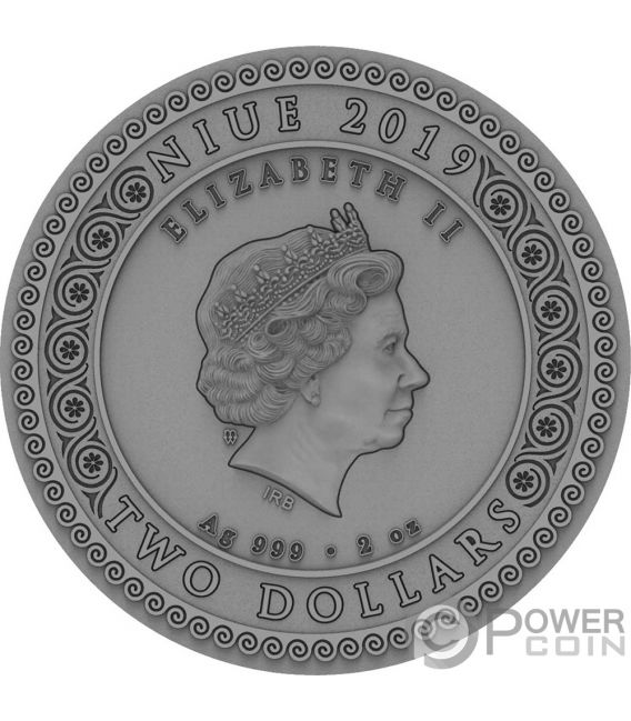 ARTEMIS Itgoddesses 2 Oz Silber Münze 2$ Niue 2019