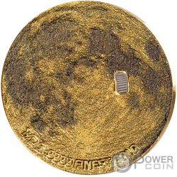 MOON LANDING Mondlandung 50 Jahrestag 2 Münzen Set 5$ 10$ Barbados 2019