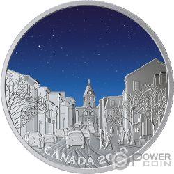 LIGHT PILLARS Lichtsäulen Sky Wonders 1 Oz Silber Münze 20$ Canada 2019