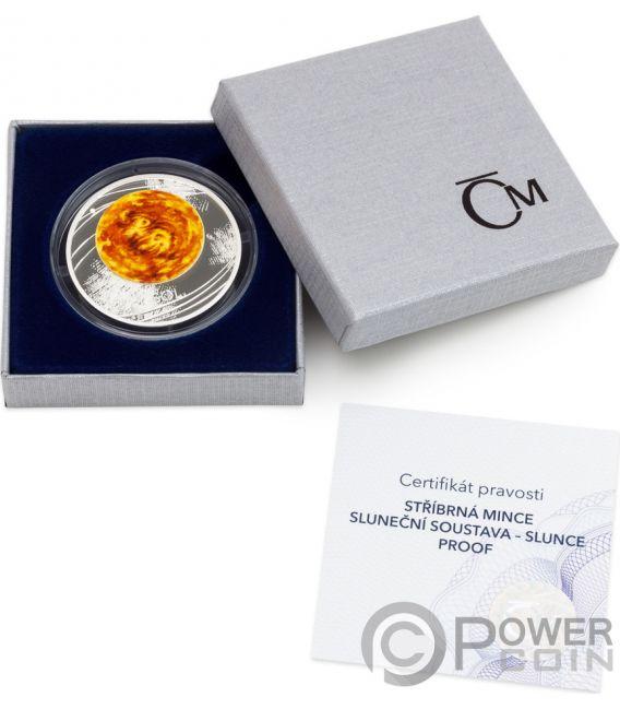 SUN Solar System 1 Oz Silver Coin 1$ Niue 2019