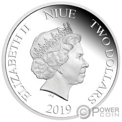 MINION MADE Season Greetings 1 Oz Silver Coin 2$ Niue 2019