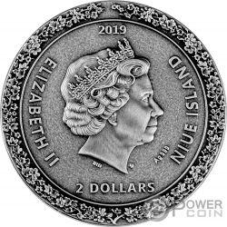 GEISHA Japanese Culture 2 Oz Silver Coin 5$ Niue 2019