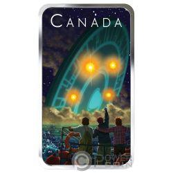 SHAG HARBOUR INCIDENT Unexplained Phenomena 1 Oz Moneta Argento 20$ Canada 2019