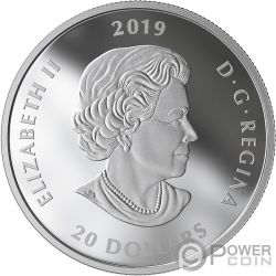 LEST WE FORGET Murano Mohnblume 1 Oz Silber Münze 20$ Canada 2019