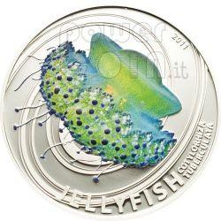 JELLYFISH Mediterranean Jelly Moneda Plata 2$ Pitcairn Islands 2011