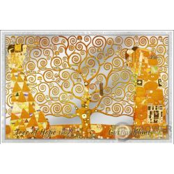 TREE OF LIFE Дерево Жизни Hope Klimt Банкнота Серебро 5$ Острова Кука 2019