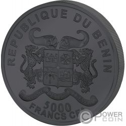 GIANT PANDA Precious Nature Palladium Rhodium 1 Kg Silber Münze 10000 Franken Benin 2020